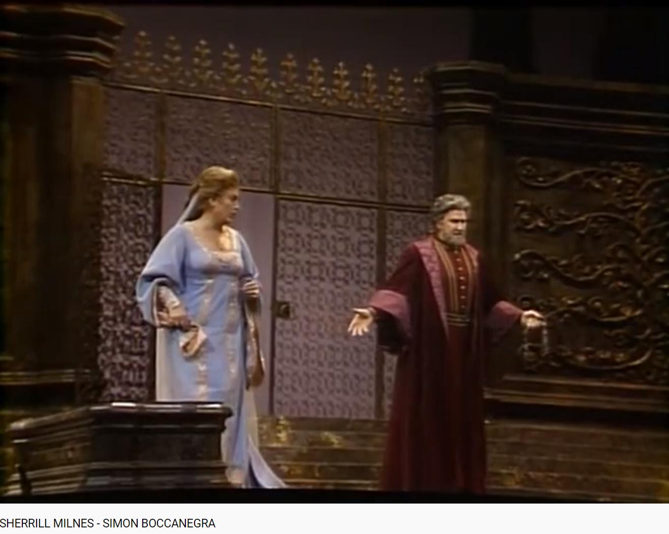 Verdi Simon Boccanegra (MET 1984)
