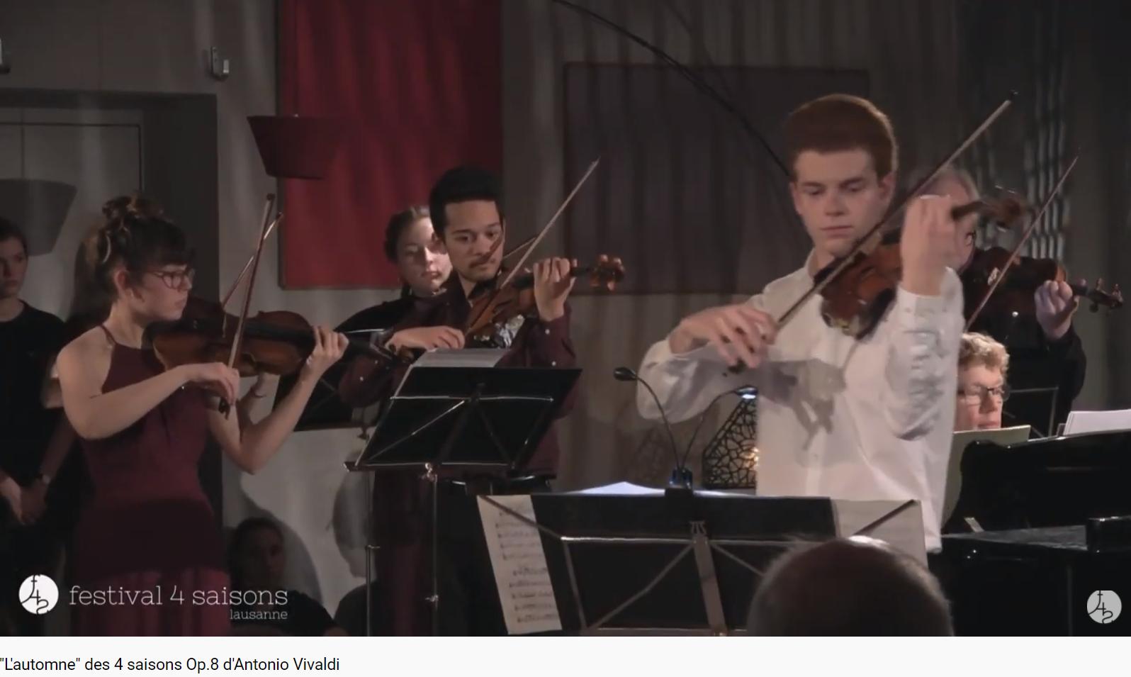 Vivaldi les 4 saisons l'automne