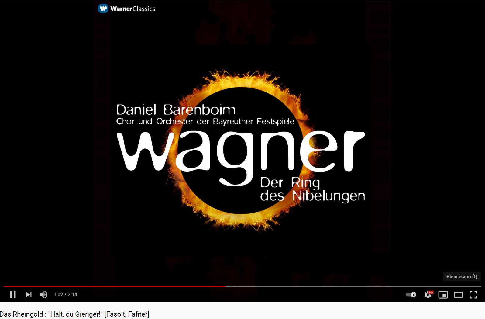 Wagner das Rheingold Fafner und Fasolt
