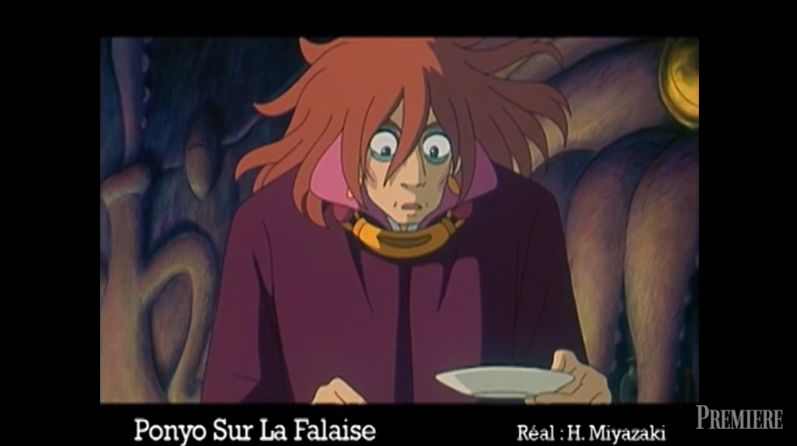 Hisaichi Ponyo sur la falaise Fujimoto