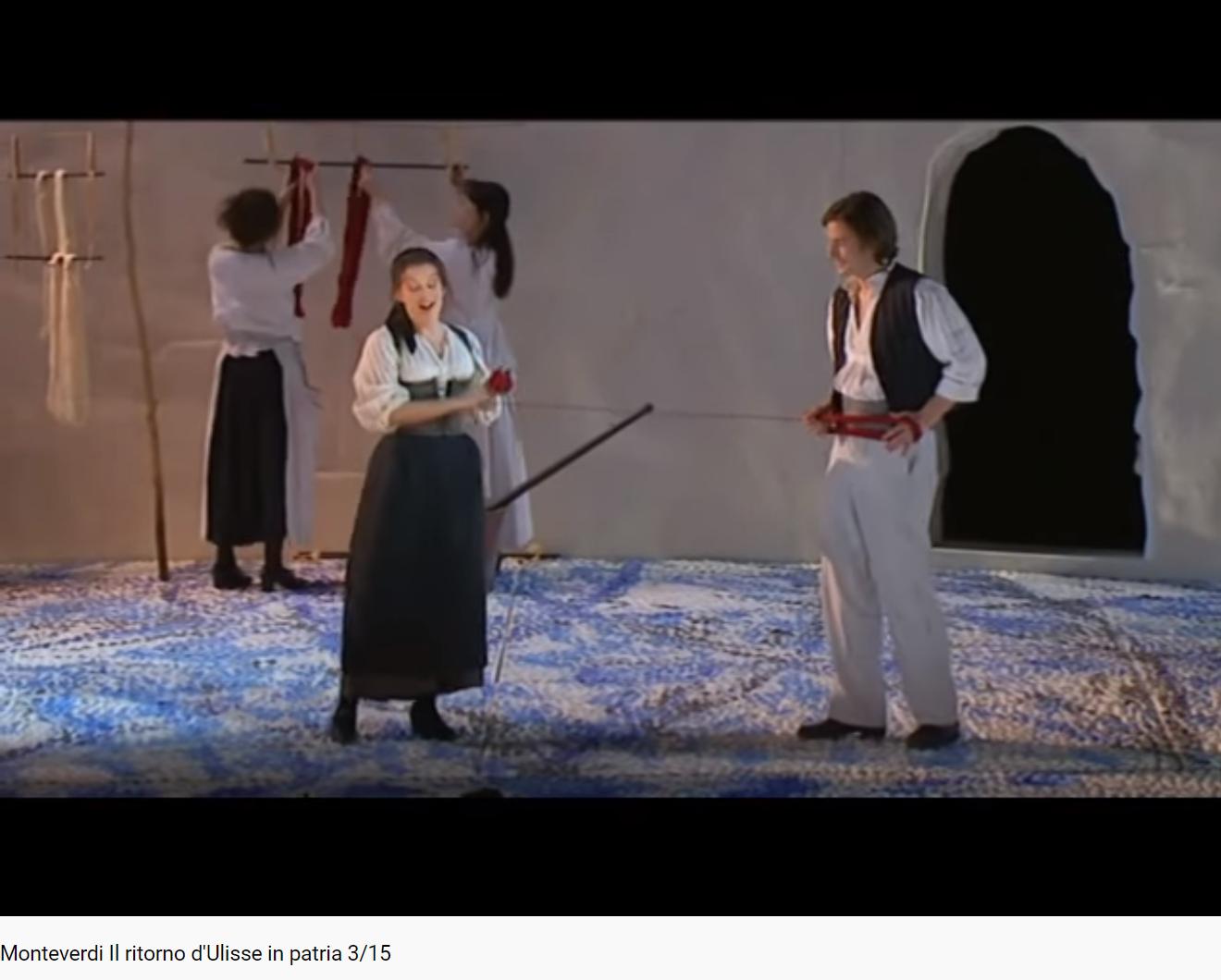 Monteverdi Il ritorno d'Ulisse dei nostri amor concordi