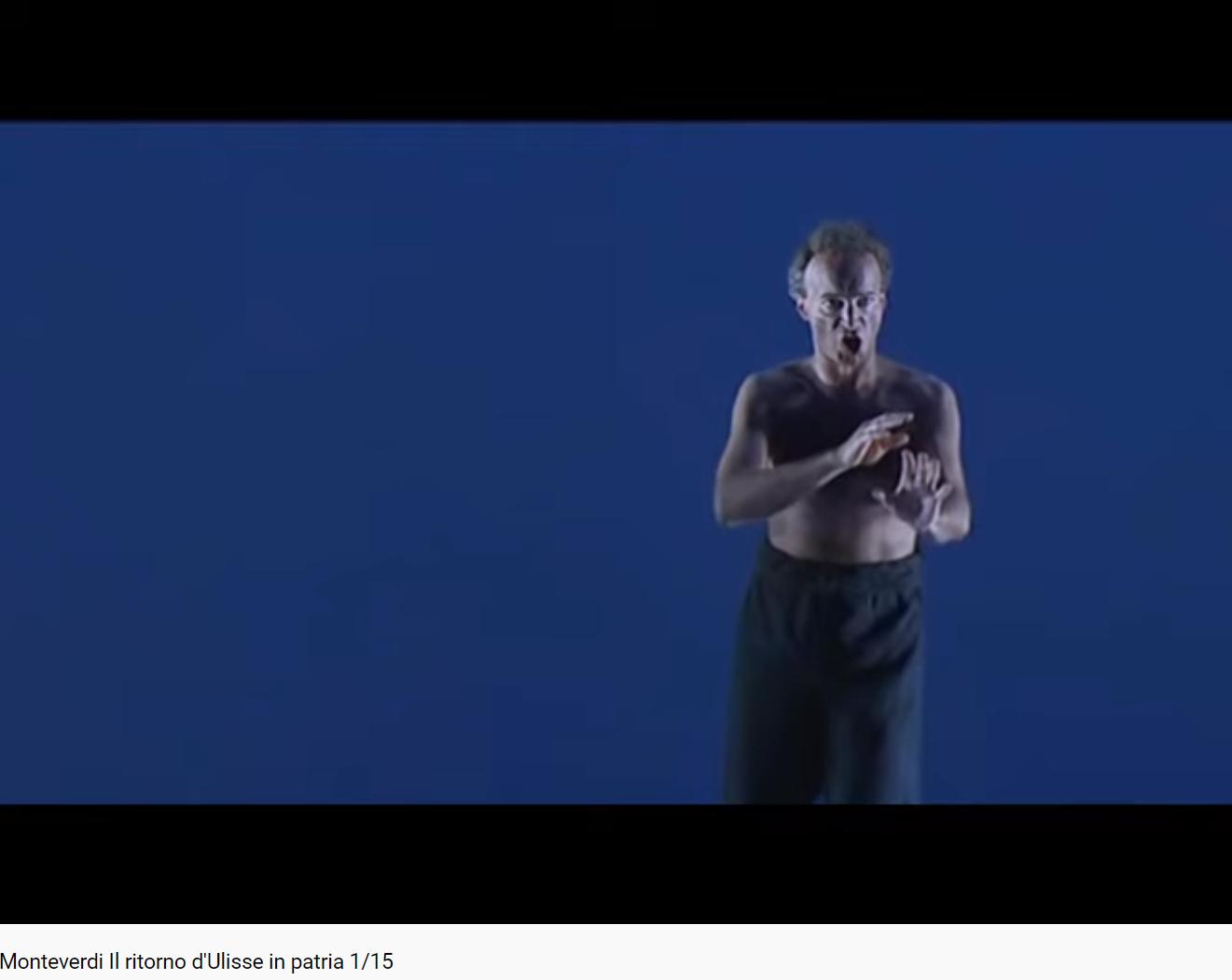 Monteverdi Il ritorno d'Ulisse in patria prologue