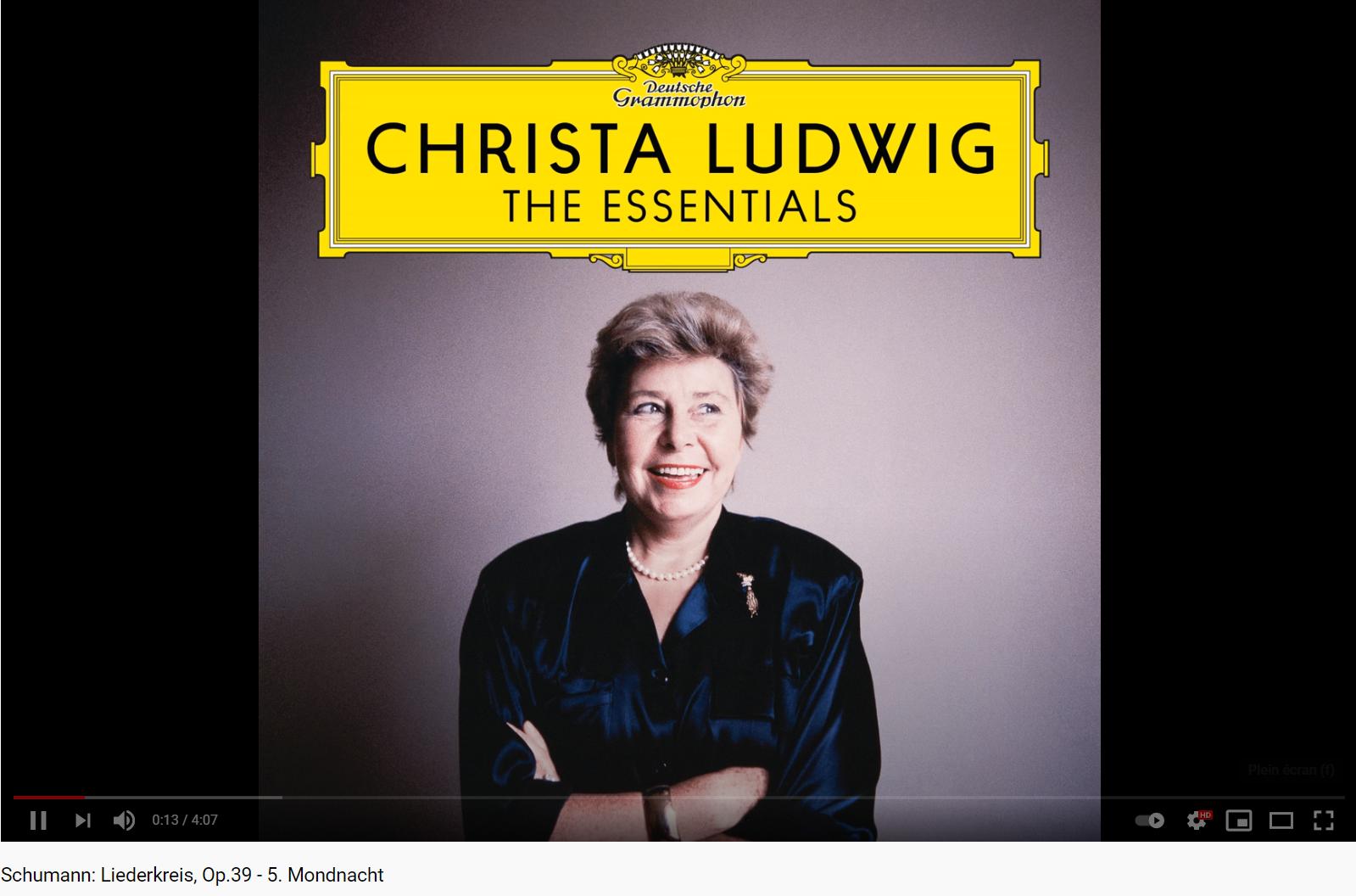 Schumann Liederkreis (Christa Ludwig)