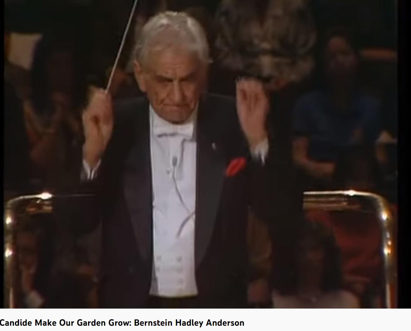 Bernstein Candide Make our Garden Grow