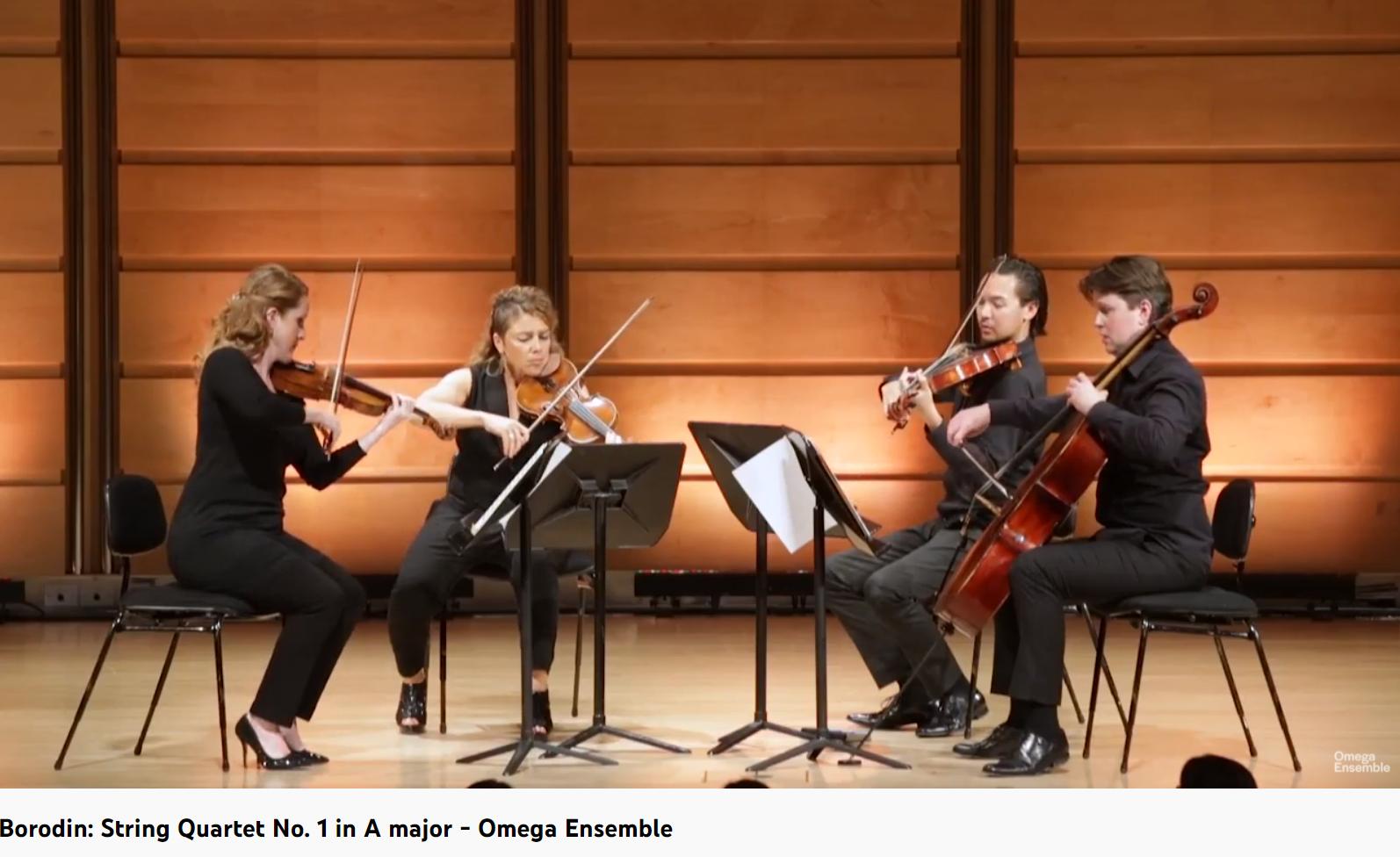 Borodine quatuor n° 1