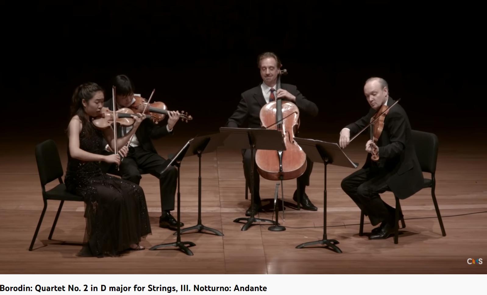 Borodine quatuor n° 2 nocturne