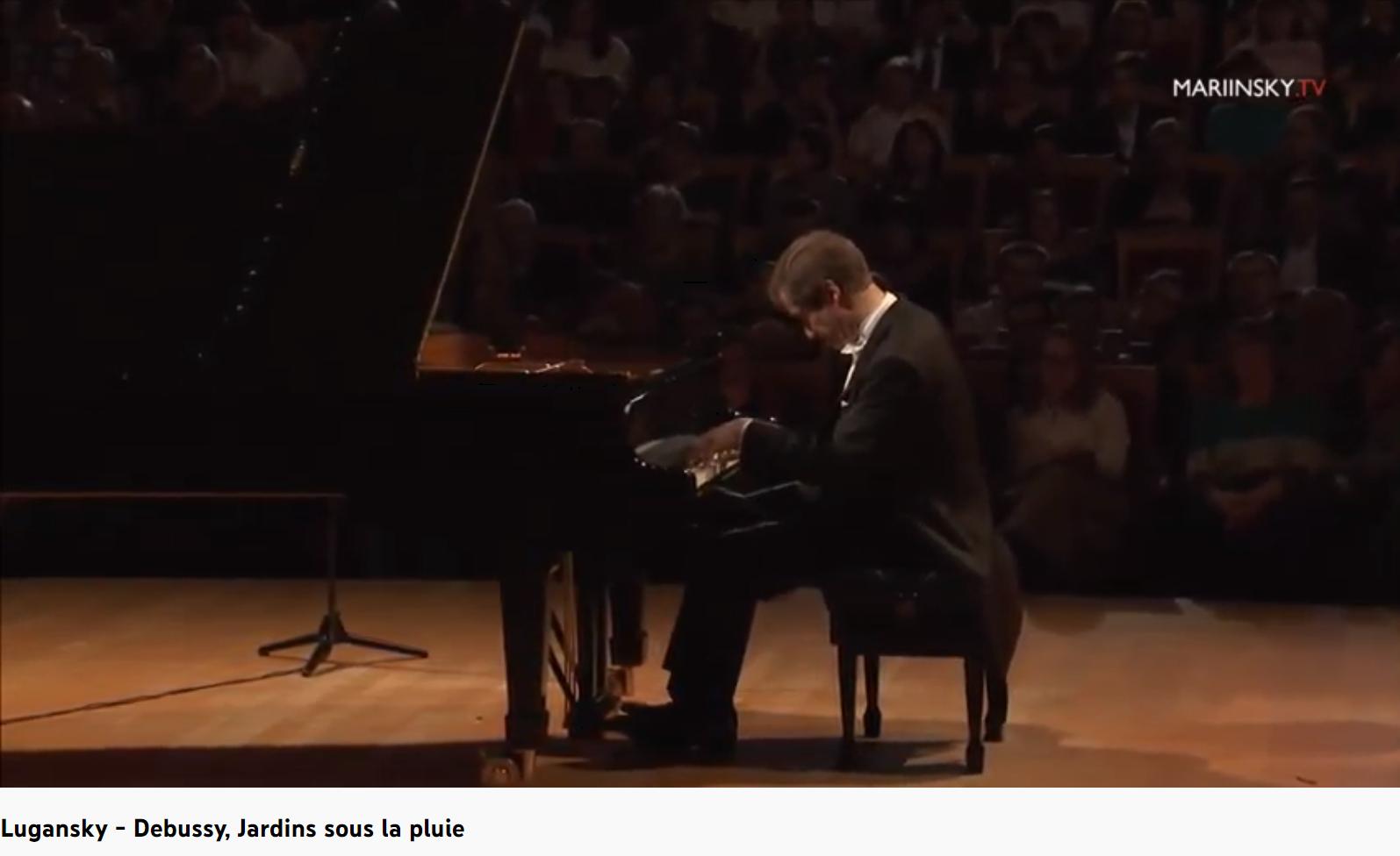 Debussy Estampes Jardins sous la pluie