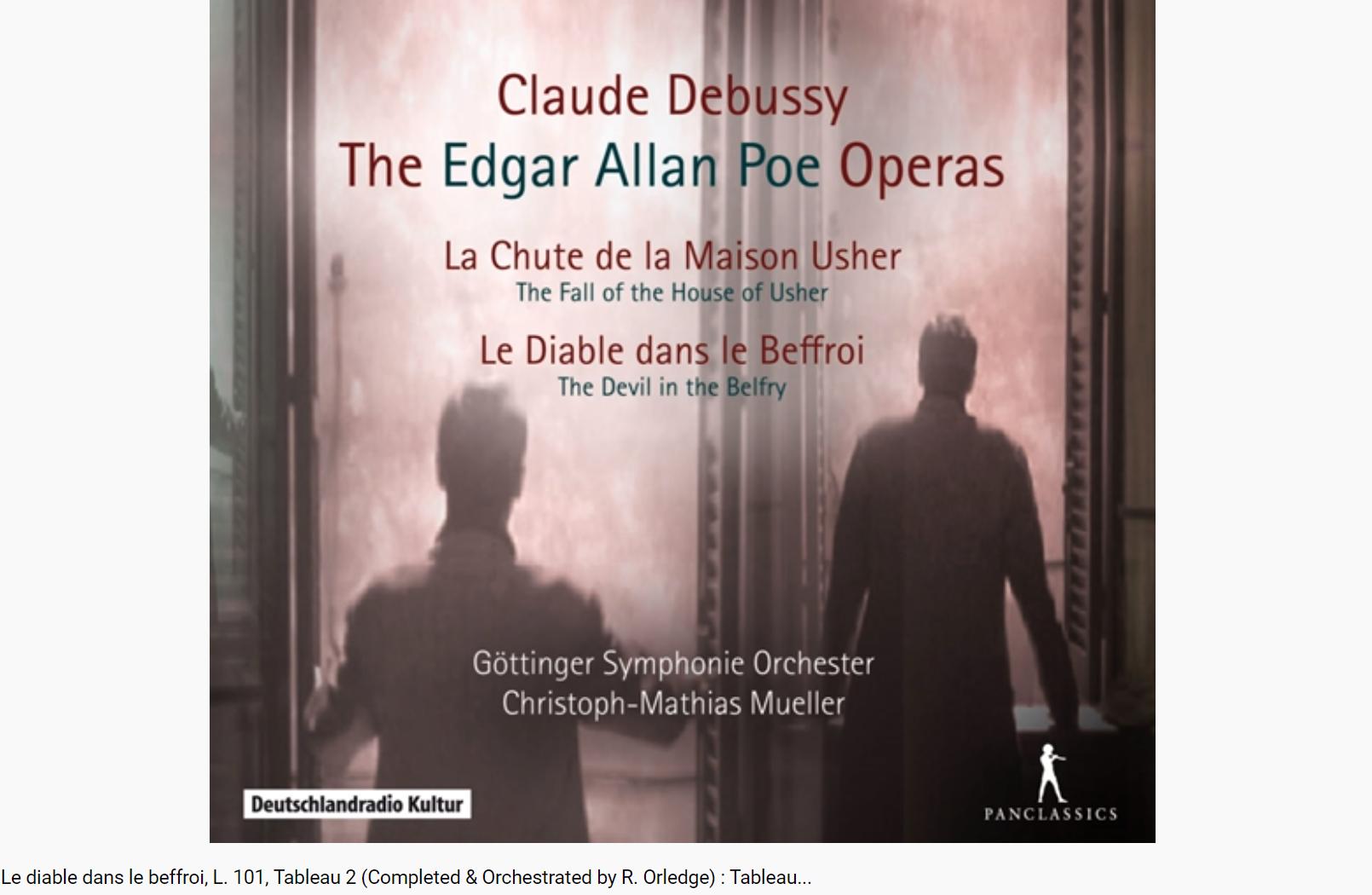 Debussy le Diable dans le beffroi