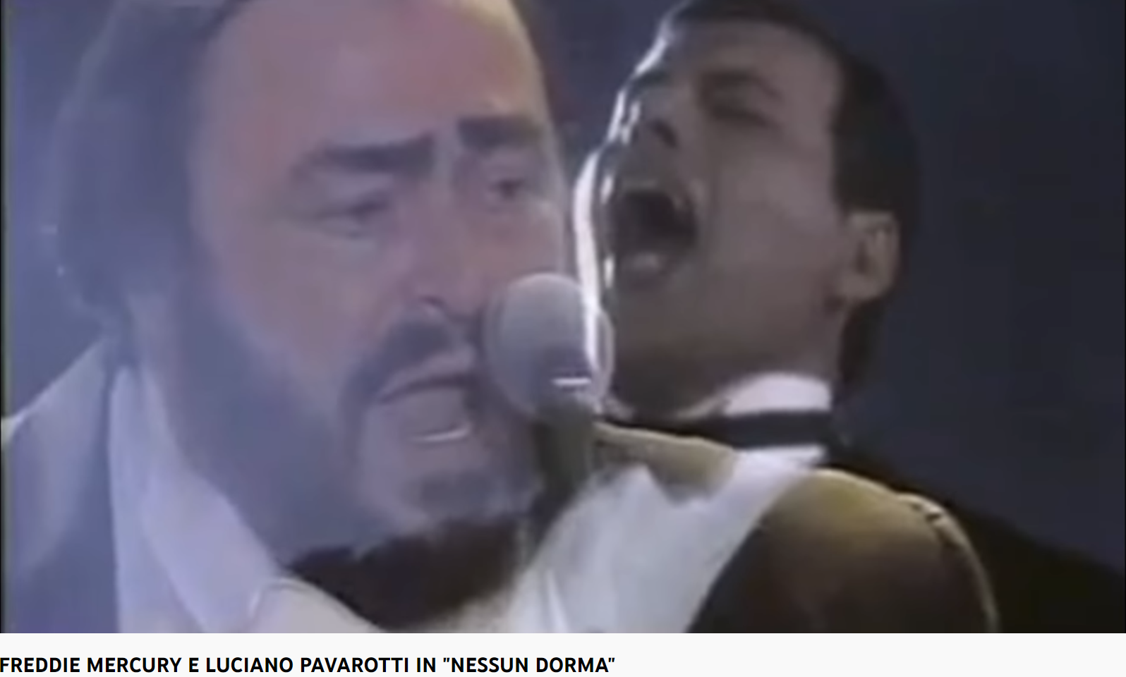 Puccini turandot Nessun dorma (Pavarotti et Mercury)