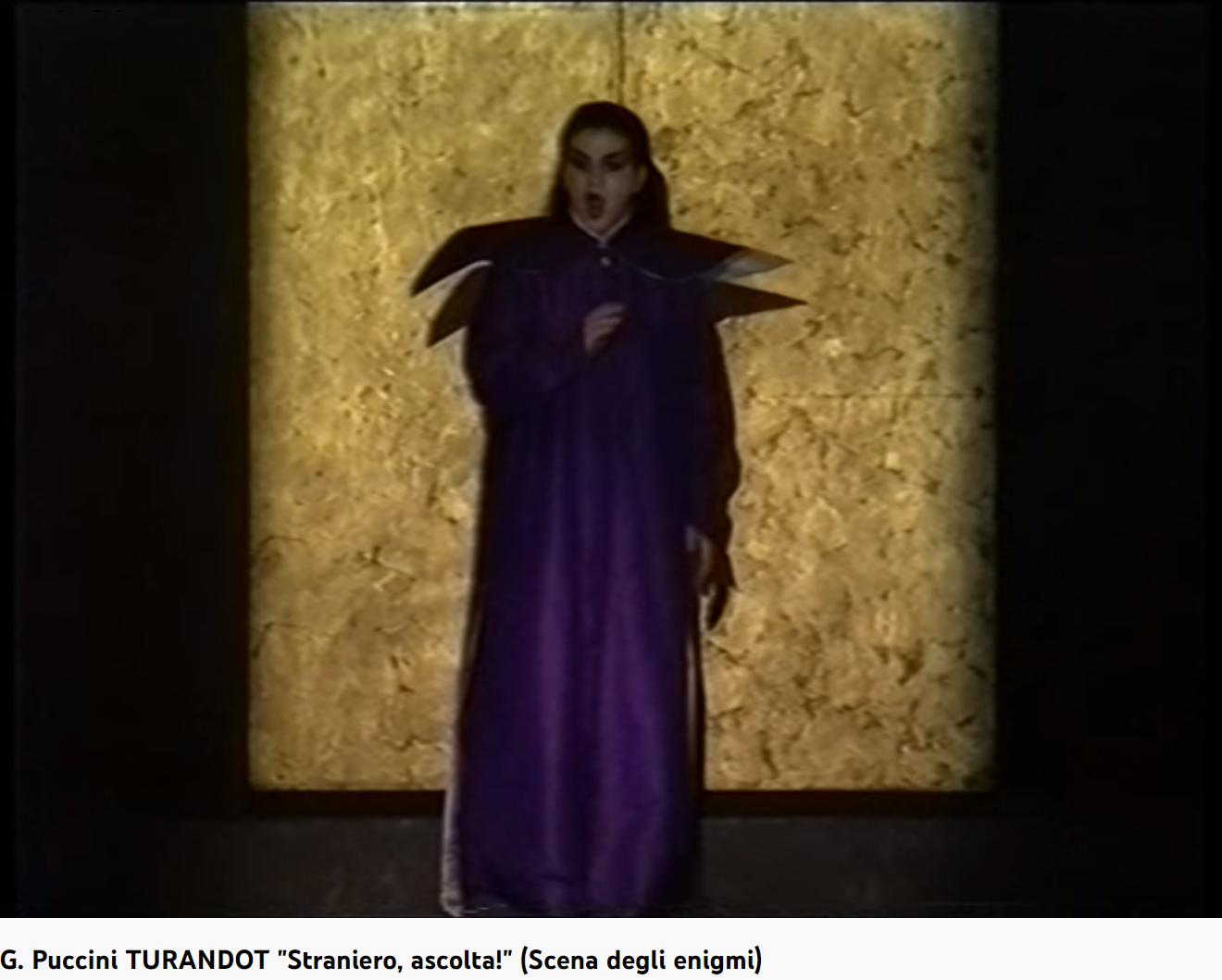 Puccini Turandot Straniero, ascolta