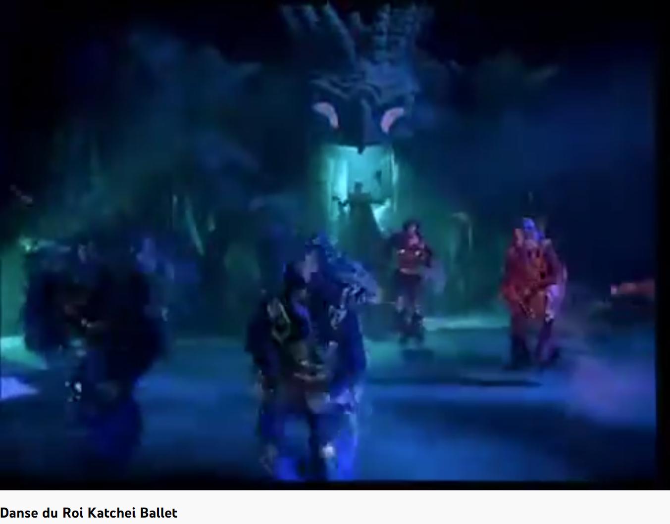 Stravinsky l'Oiseau de feu danse infernale des sujets du roi Katcheï