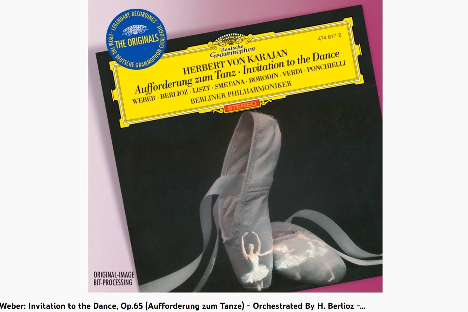 Weber Berlioz l'invitation à la valse