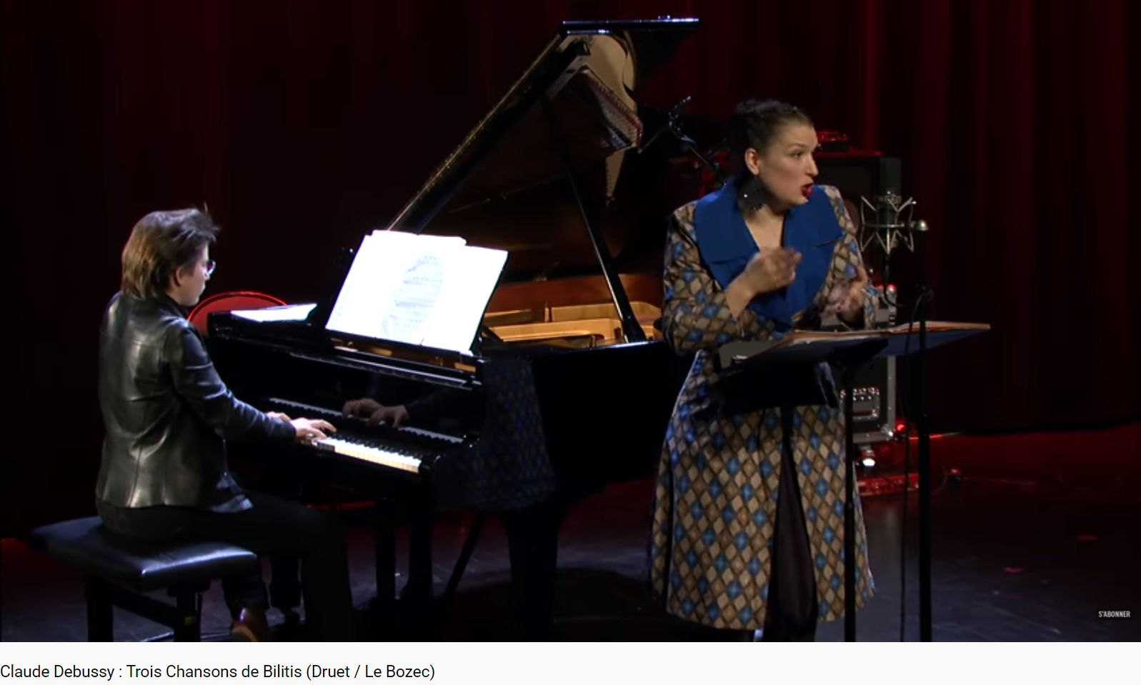 Debussy Trois chansons de Bilitis la chevelure