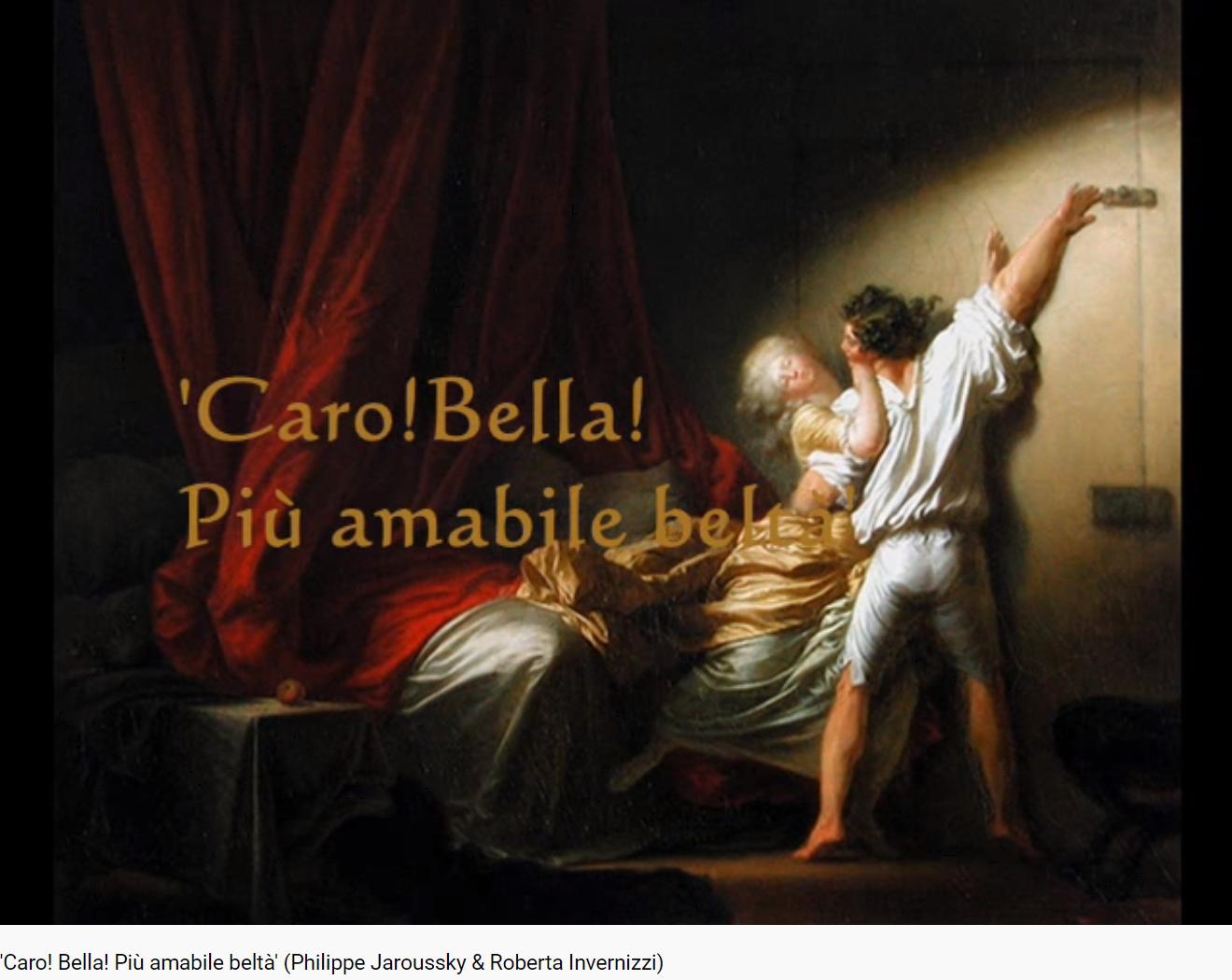 Haendel Giulio Cesare Caro Bella Piu amabile belta