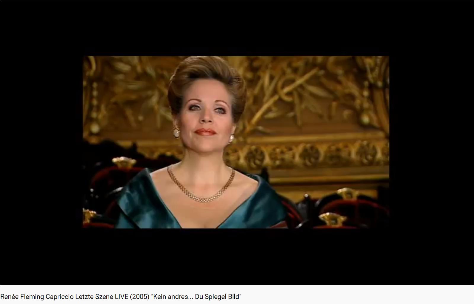 Strauss Capriccio scène finale