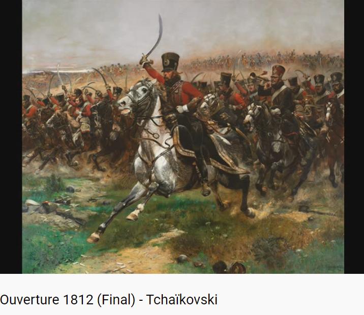 Tchaïkovski Ouverture 1812