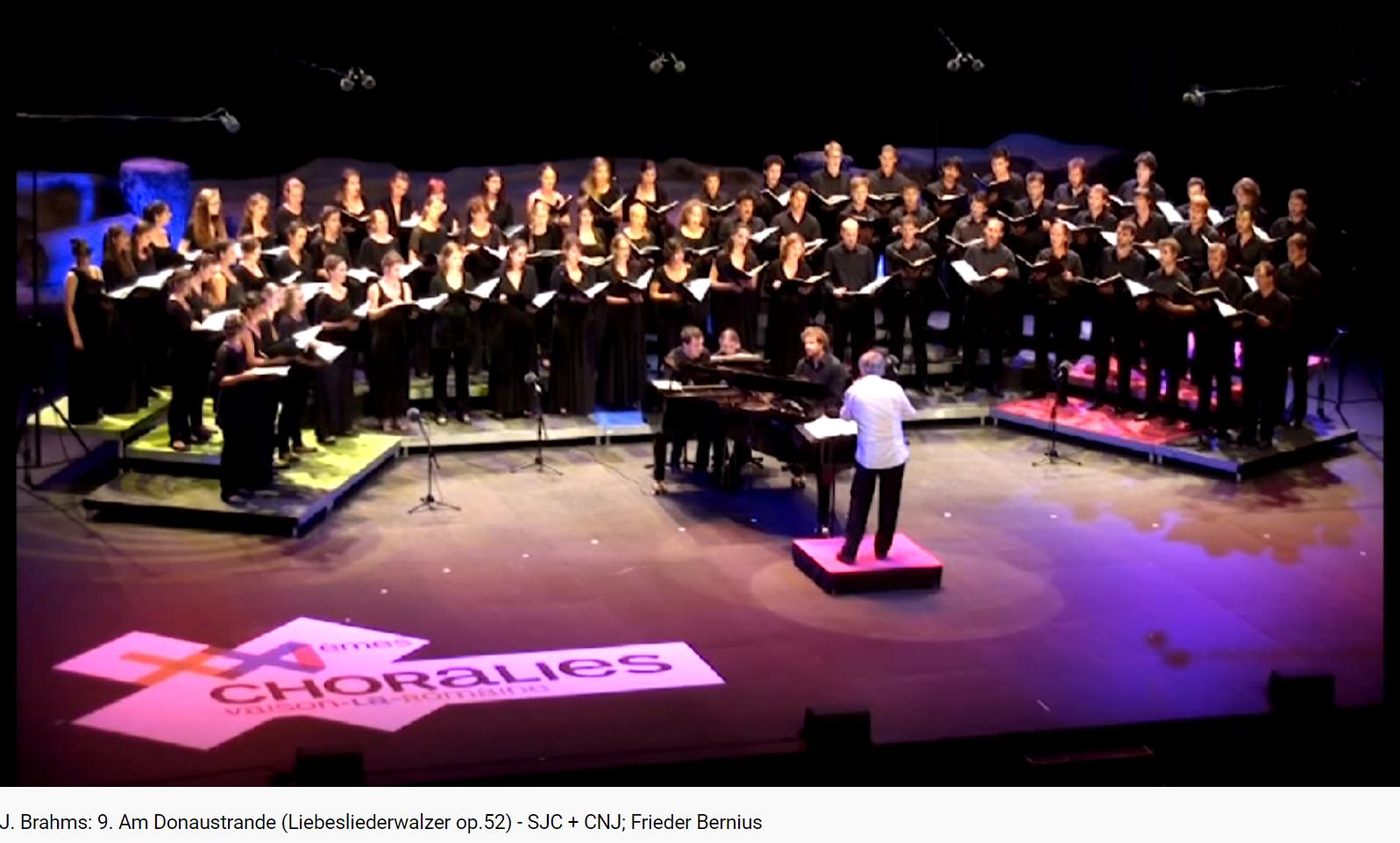 Brahms Liebesliederwalzer Am Donaustrande