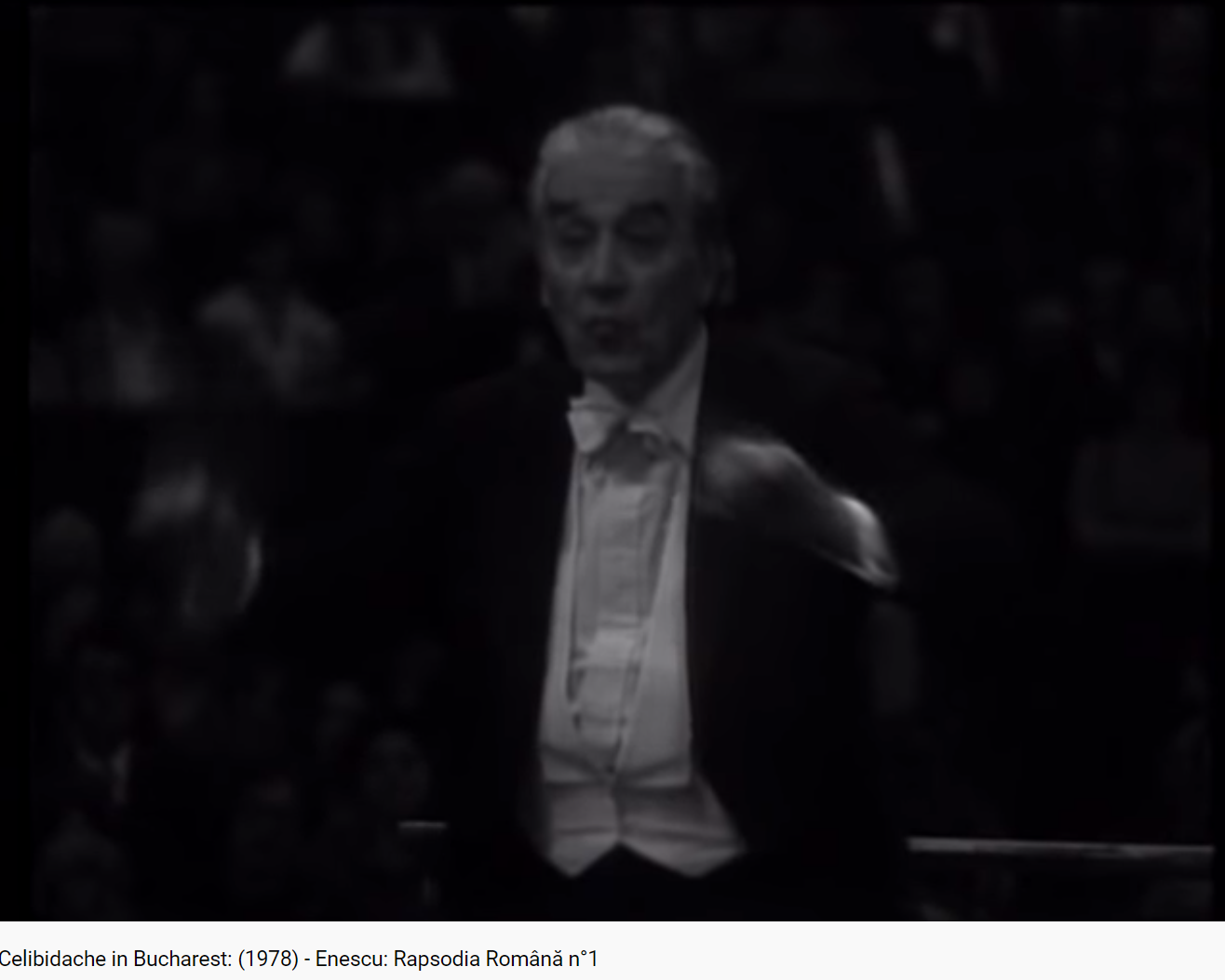 Enesco (Enescu) rhapsodie roumaine