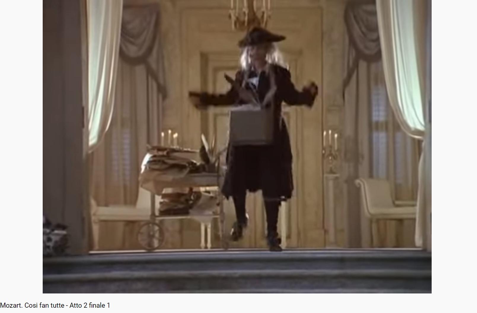 Mozart Cosi fan Tutte le notaire