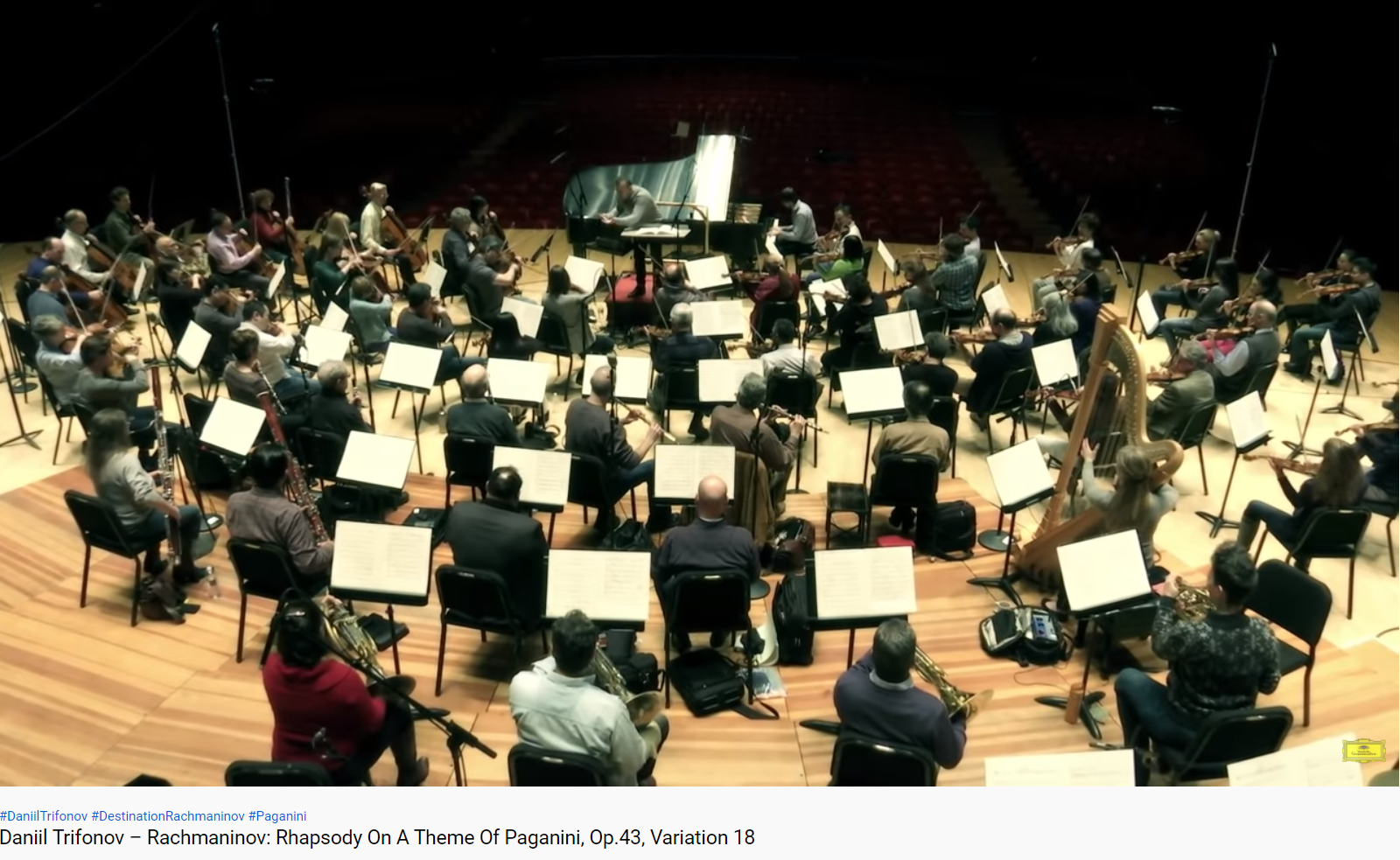 Rachmaninov Rhapsodie sur un thème de Pagananini op 43 variation 18
