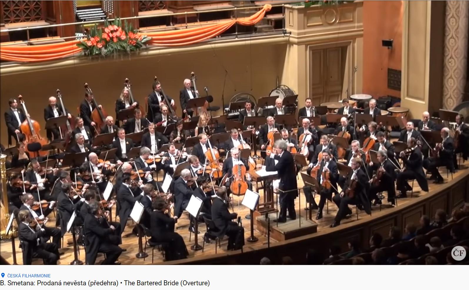 Smetana la fiancée vendue (Prodana nevesta) ouverture