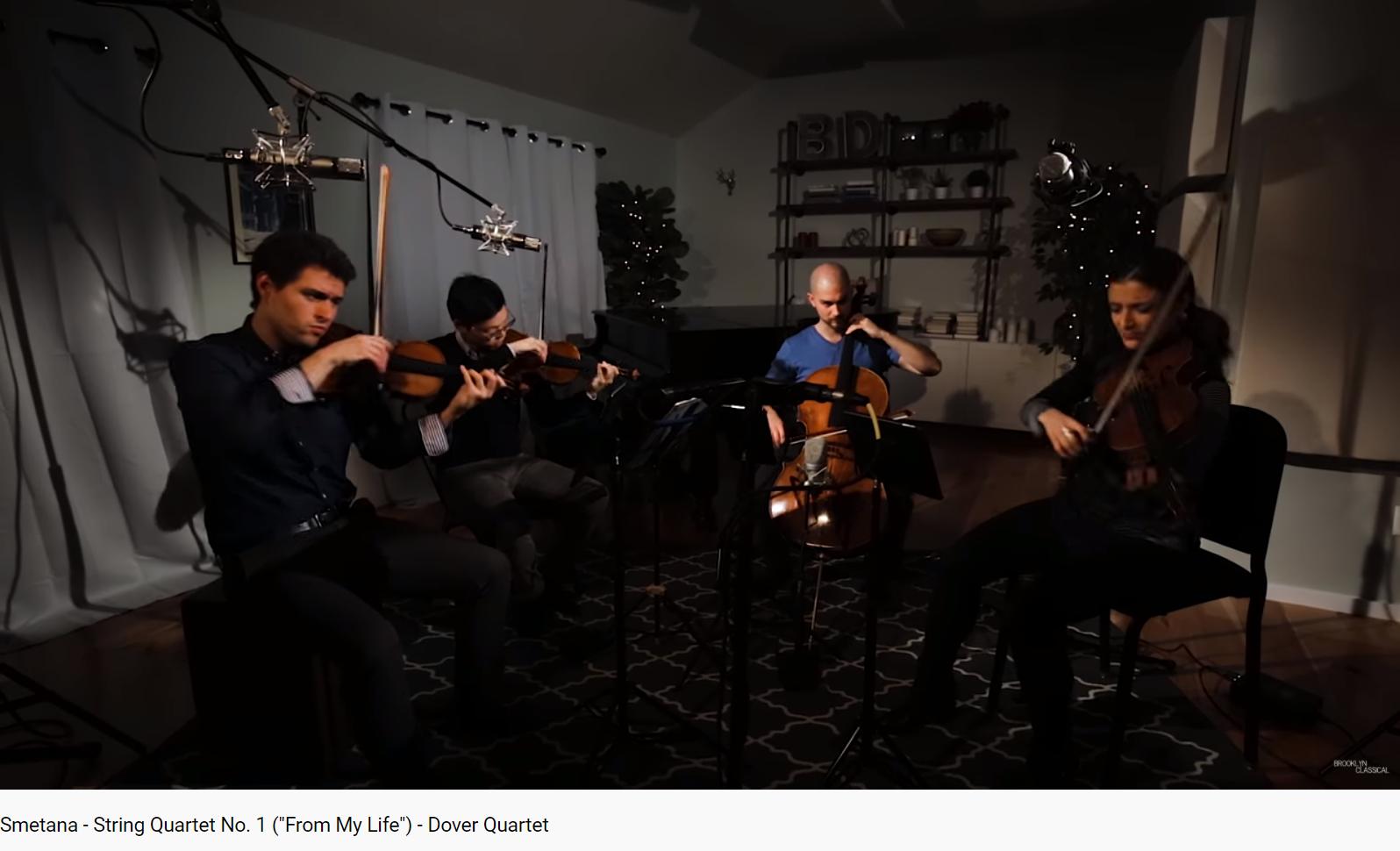 Smetana Quatuor 1 De ma vie 1er mouvement