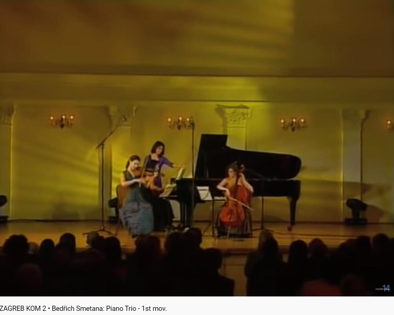 Smetana Trio piano violon violoncelle