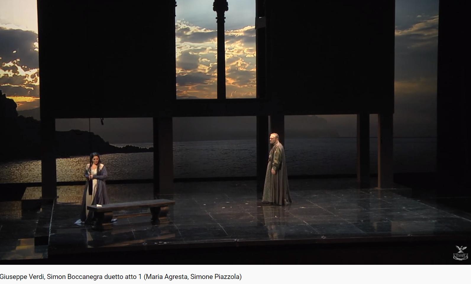 Verdi Simon Boccanegra Duo Amelia Simon 1er acte