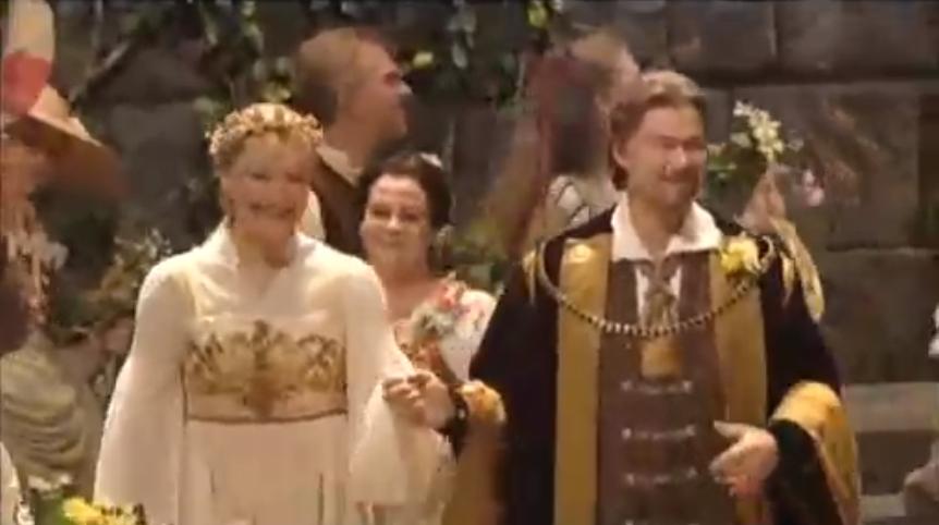 Wagner les Maîtres-chanteurs entrée des maîtres acte III