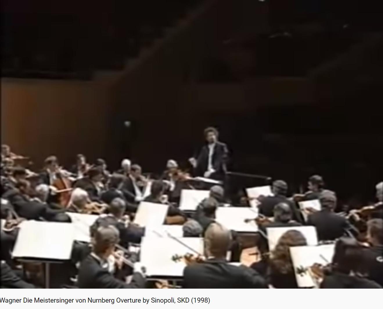 Wagner les Maîtres-chanteurs ouverture