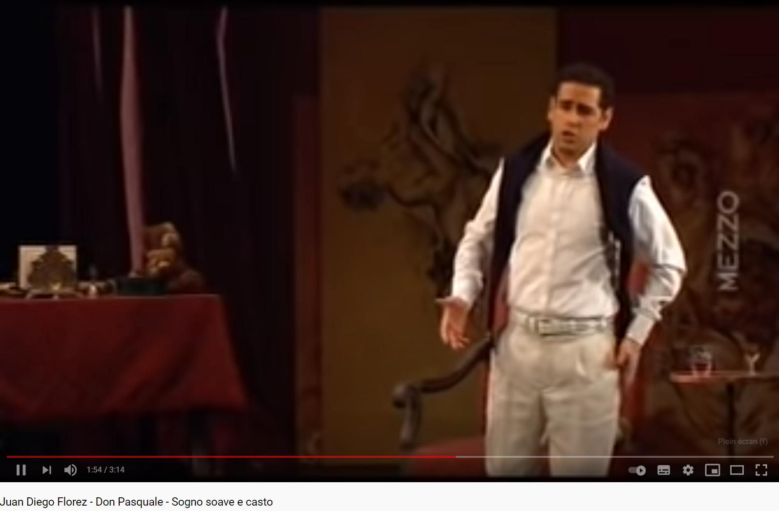 Donizetti Don Pasquale Sogno soave e casto