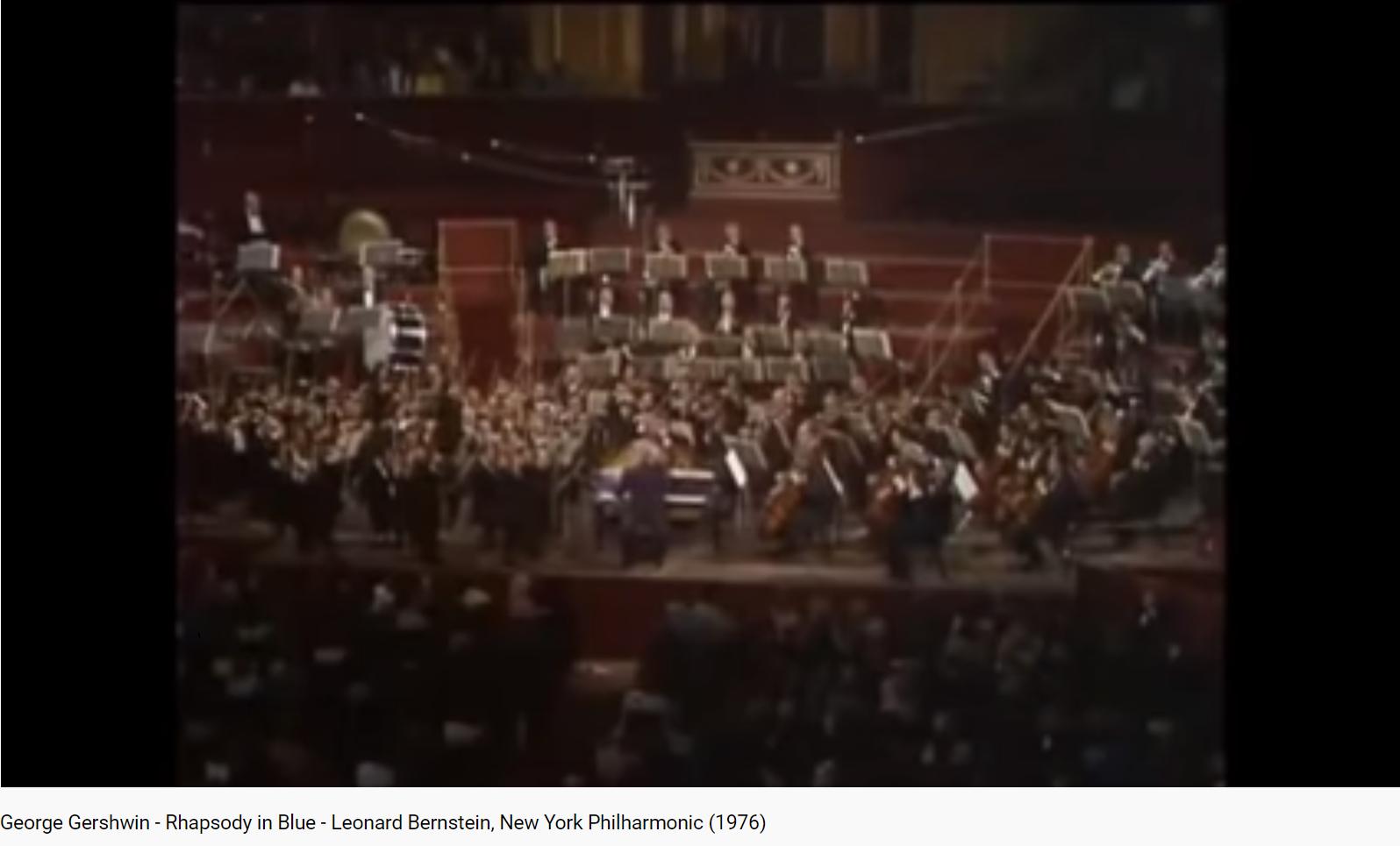 Gershwin Rhapsody in blue