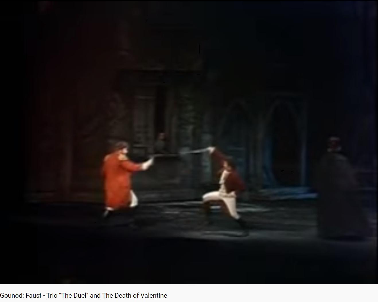 Gounod Faust le duel
