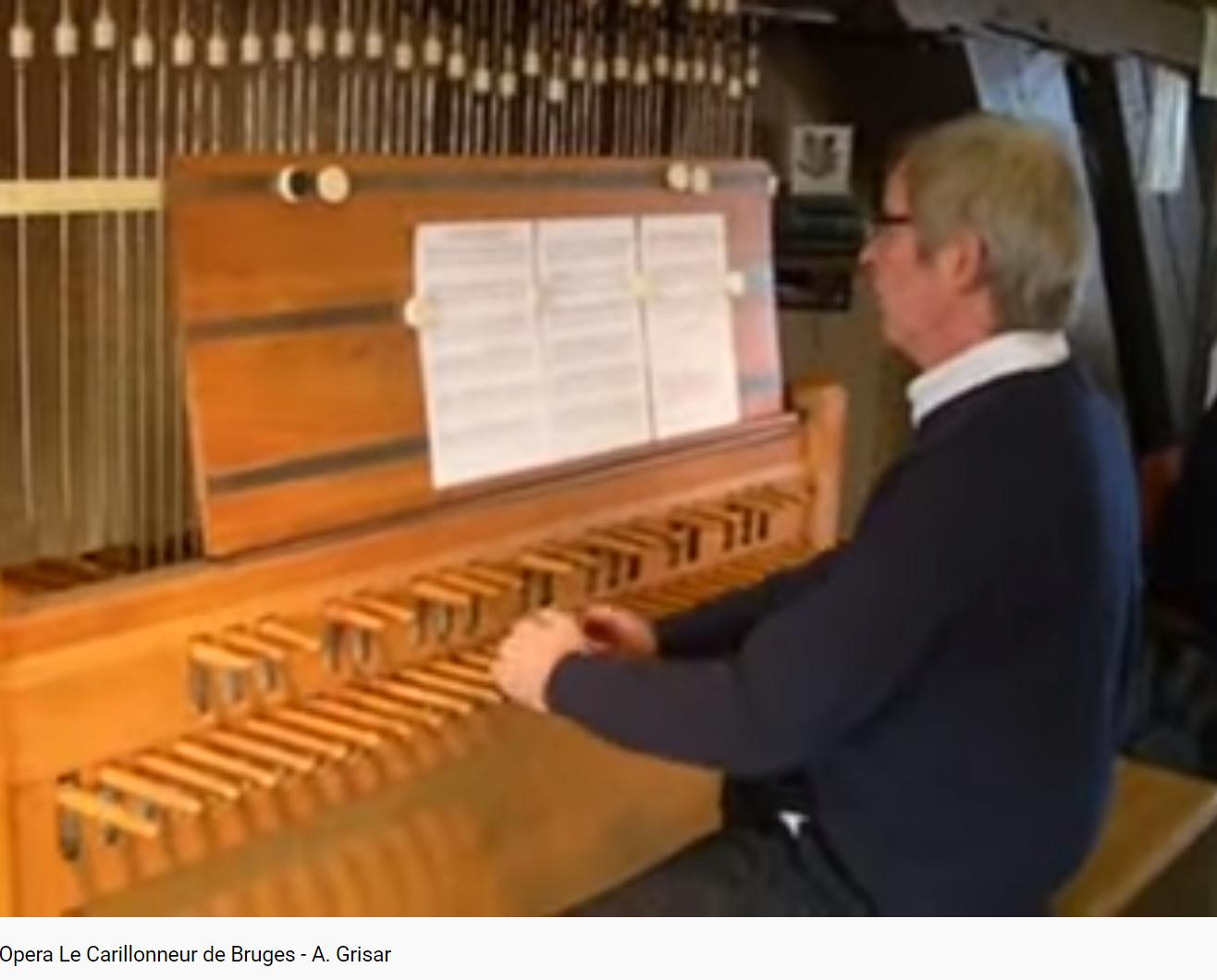 Grisar Le Carillonneur de Bruges