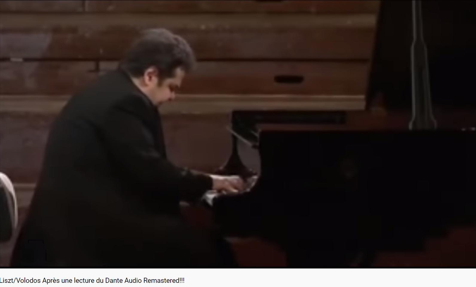Liszt Après une lecture de Dante