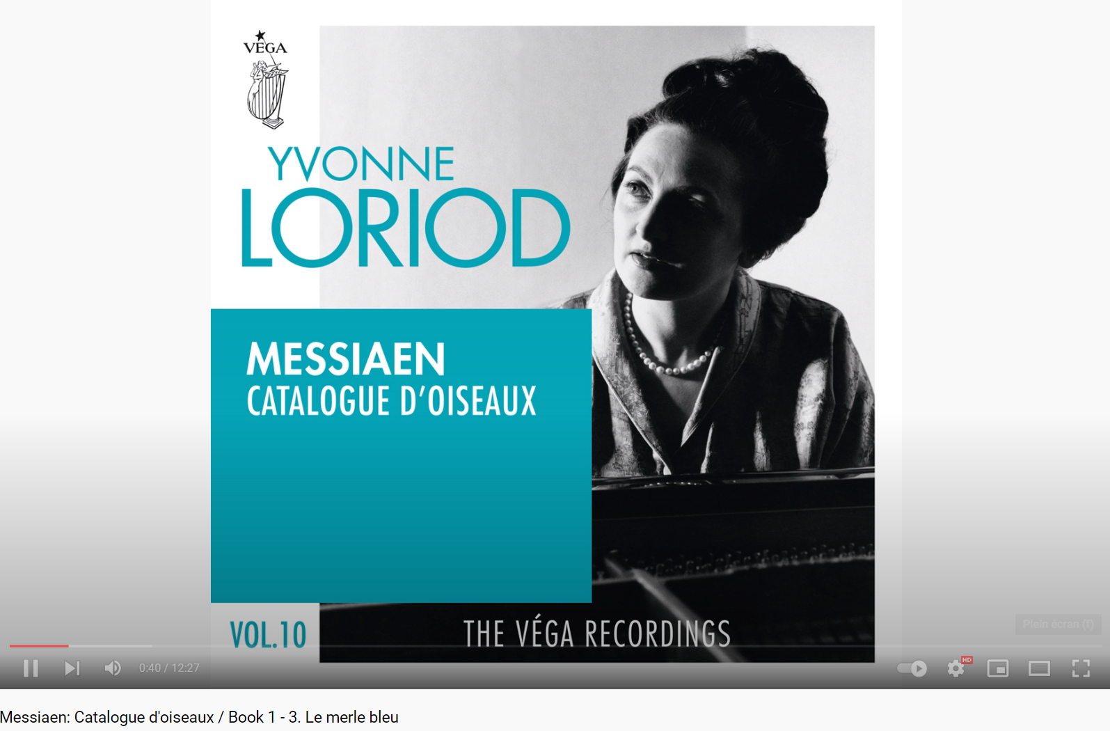 Messiaen le Merle bleu