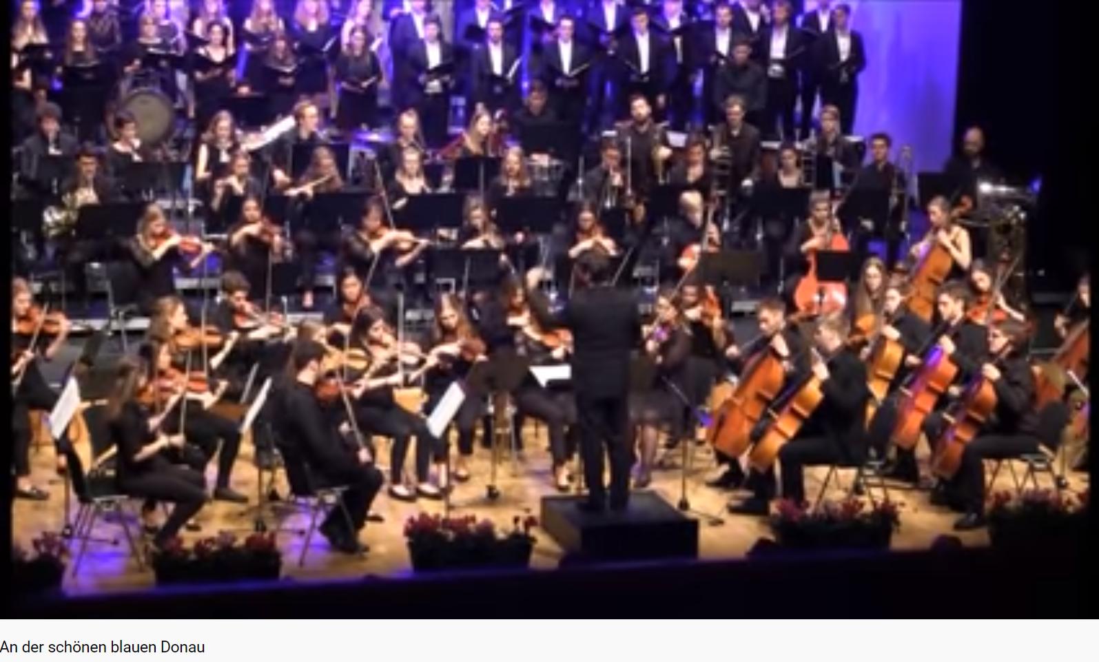 Strauss An der schönen blauen Donau
