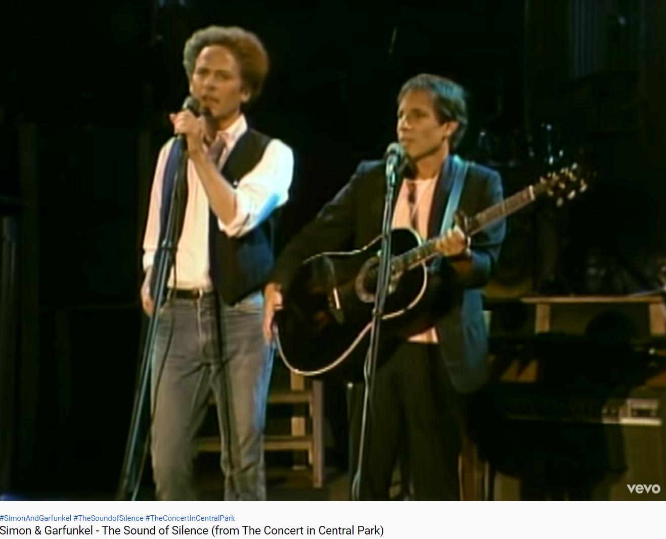Simon & Garfunkel The Sound of silence